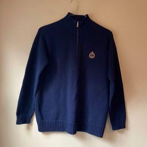 Ralph Lauren Sweater Crest Logo